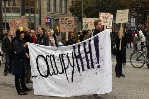 Occupy Hamburg Demo