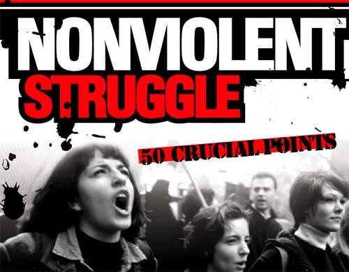 gewaltloser Protest