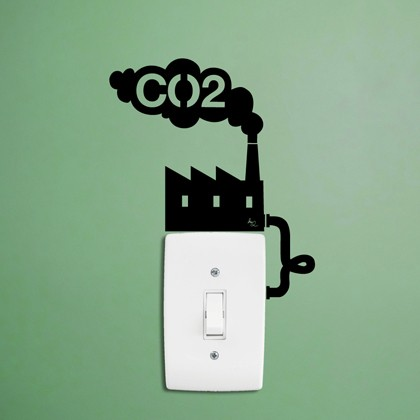 Der Light Switch Sticker von Hu2 Design