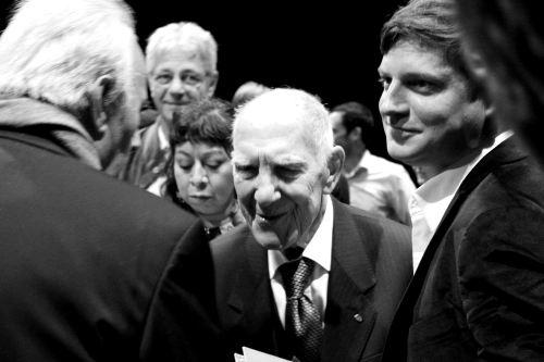 Für eine bessere Welt: Stephane Hessel zu Besuch auf Kampnagel, Hamburg