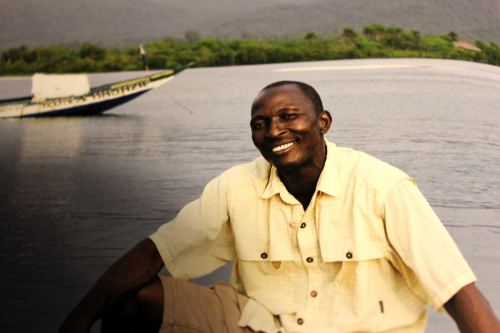 Vorbilder für eine bessere Welt: Ibrahim Sankoh aus River No.2 in Sierra Leone