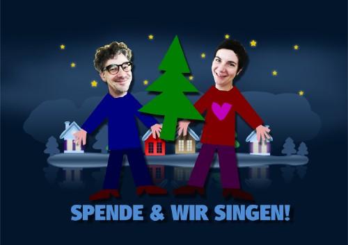 Weihnachtsaktion: Spende für das CaFée mit Herz und wir singen