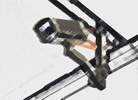 Surveillance Art / Foto Gabi Eder, pixelio.de (Für eine bessere Welt)