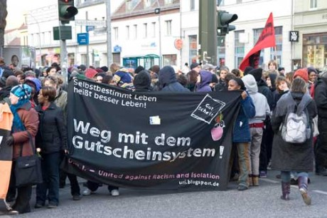 Flüchtlinge in Deutschland: Eine Demo von Women in Exile, Berlin