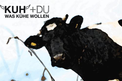 Kampagne für artgerechte Tierhaltung von Milchkühen: Kuh+Du