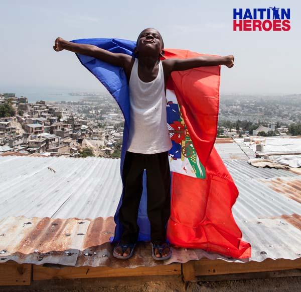 Ausstellung Haitian Heroes, ein Projekt der Red Line Children Charity