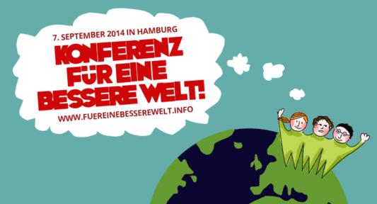 Die Konferenz für eine bessere Welt