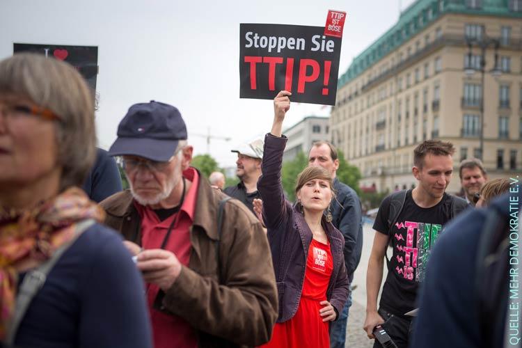 """Europaweiter Volksentscheid """"Stopp TTIP"""""""