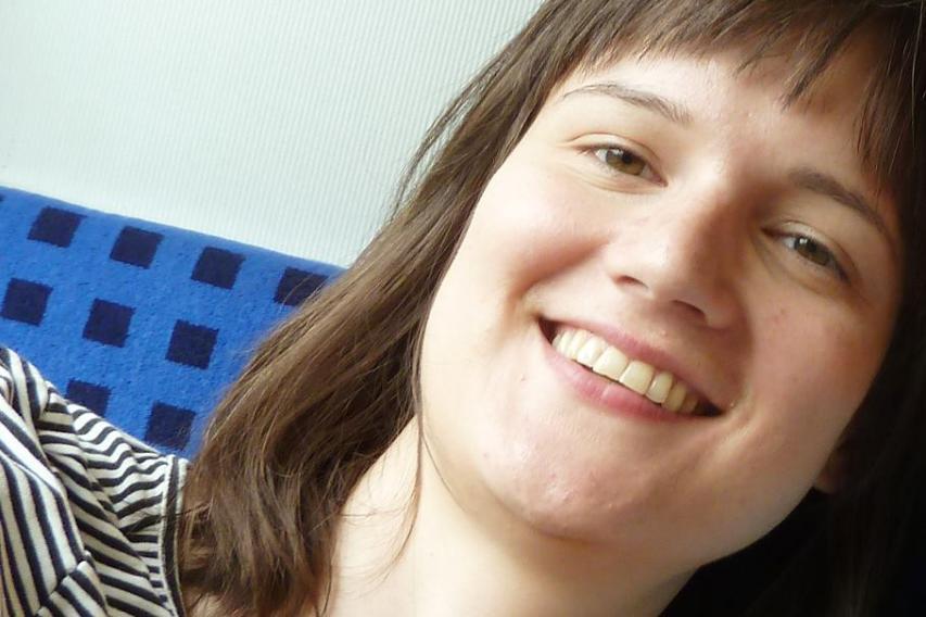 Unsere Graphic Recorderin bei den 7Talks: Clara Roethe