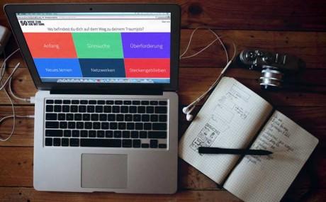 Wie finde ich den Job mit Sinn? www.50wegezumjob will helfen