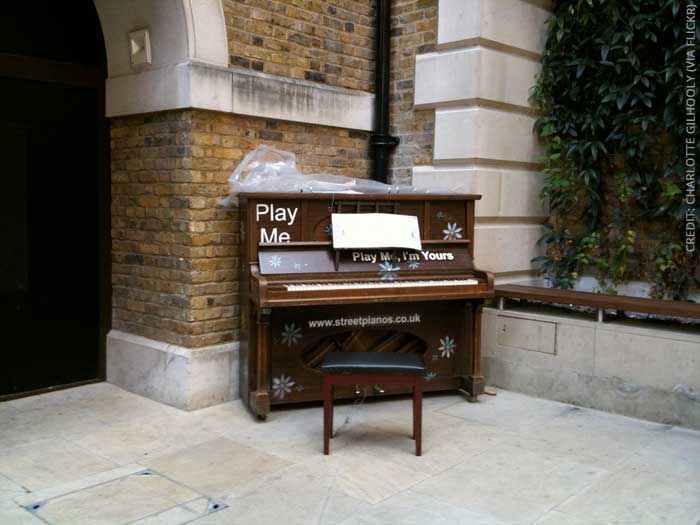 Streetpianos: Play me – I'm yours!