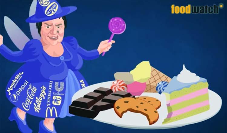 Fettleibigkeit stoppen – Aktion von Foodwatch