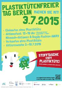 Plastiktütenfreier Tag in Berlin