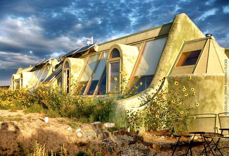 Endlich! Das erste Earthship Deutschlands