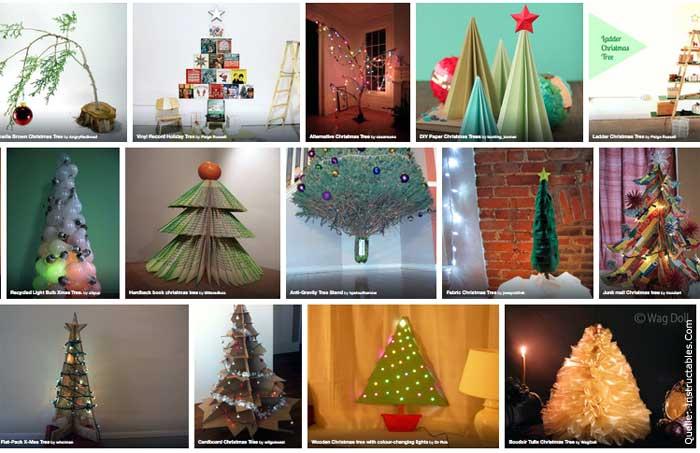 Weihnachtsbaum selbst machen: Instructabales