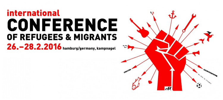 Flüchtlinge: International Conference of Refugees and Migrants
