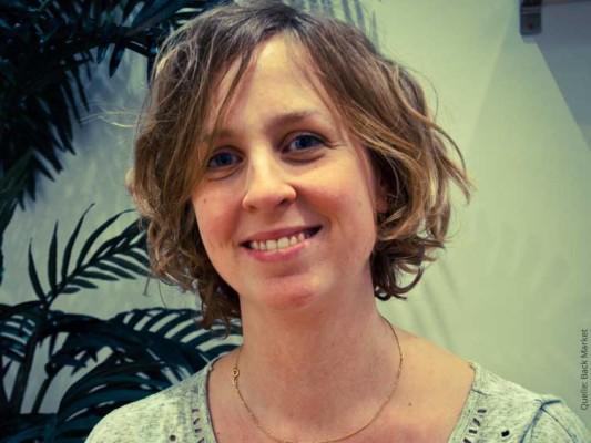 Lisa Sievers über Back Market: Elektrogeräte aus zweiter Hand
