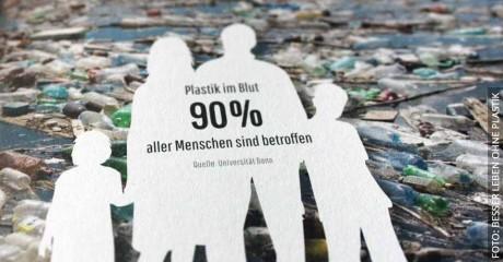 Plastik im Blut: 90 Prozent aller Menschen sind betroffen