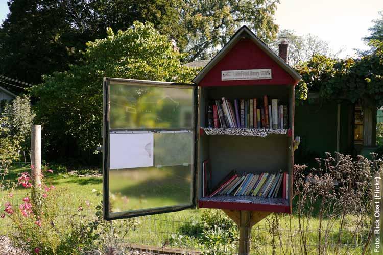 Little Free Library: Bücherkiste für die Nachbarschaft
