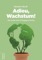 Adieu Wachstum: Wie bekommen wir eine Postwachstumsgesellschaft? Ein Buch von Norbert Nicoll