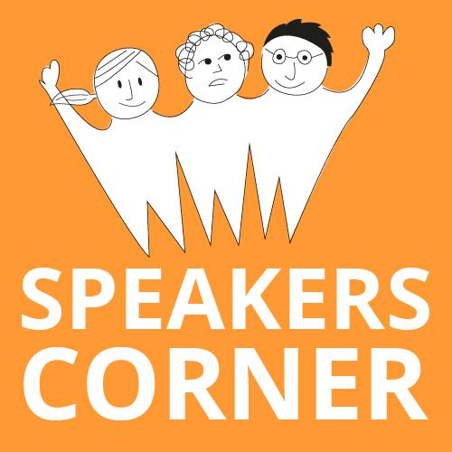 Präsentiere deine Idee: Speakers Corner