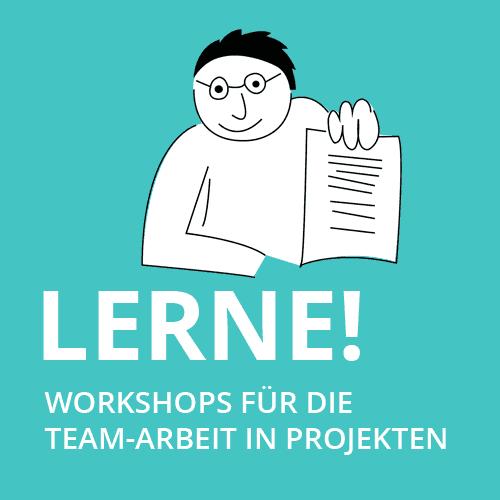 LERNEN: Workshops für Projektplanung und -umsetzung
