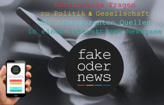 fakeodernews – Eine interaktive Spielanwendung