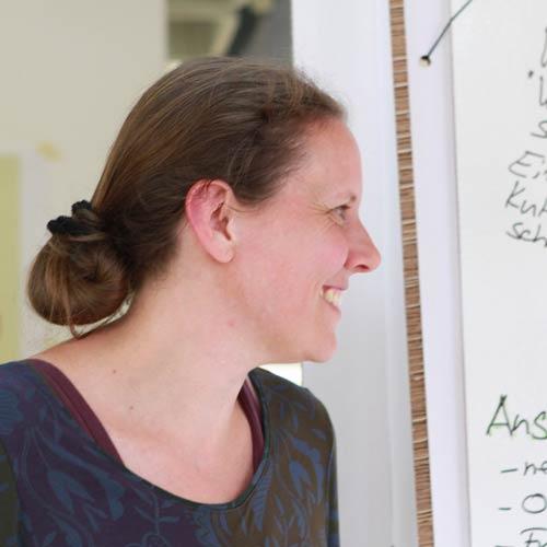 Frauke Godat, Art of Hosting bei der Konferenz für eine bessere Welt