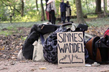 Sinnes-Wandel-Wanderung in Hamburg, Stadtpark