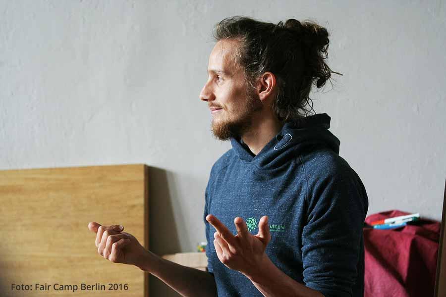 Tobi Rosswog will nicht arbeiten: Ein Interview