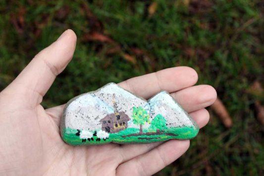 Elbstones: Steine bemalen und aussetzen