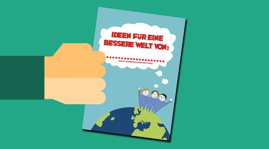 Gratis E-Book: Ideen für eine bessere Welt