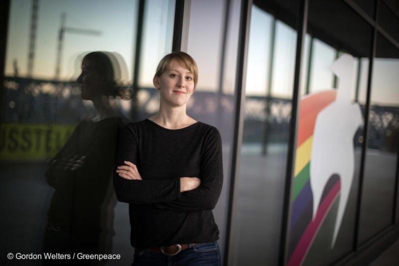 Lisa Göldner, Klima-Expertin bei Greenpeace