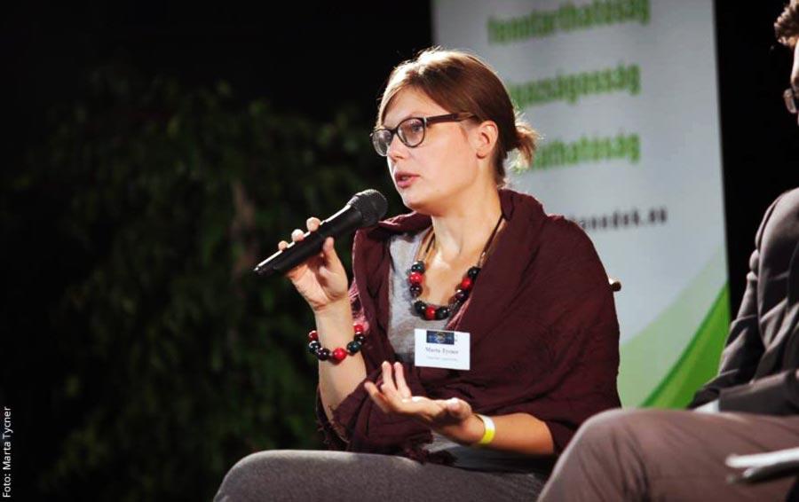 Marta Tycner (WeMove.EU): Bedingungsloses Grundeinkommen