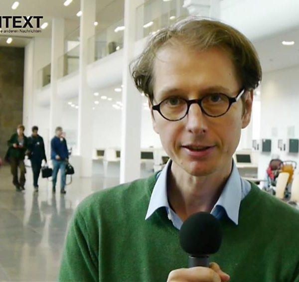 Fabian Scheidler (Kontext TV): Megamaschine