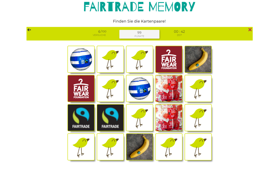 Webtipp: Fairtradegames