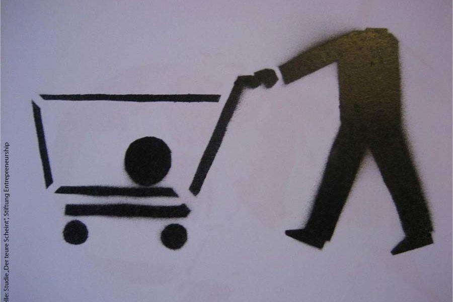 """Studie """"Der teure Schein"""" über den Marketing-Rucksack von Produkten"""