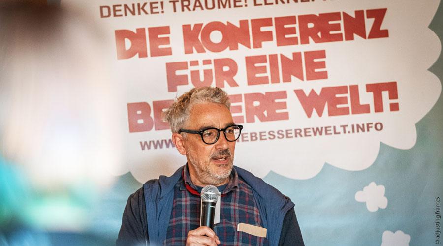 Konferenz für eine bessere Welt 2021: Talks moderiert von Marek Rohde